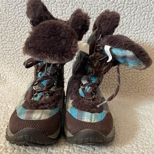 North face kids boot